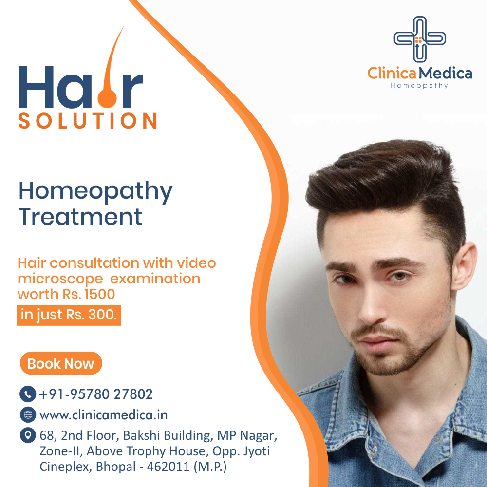 Homeopathy A Blessing For Your Hair !!!